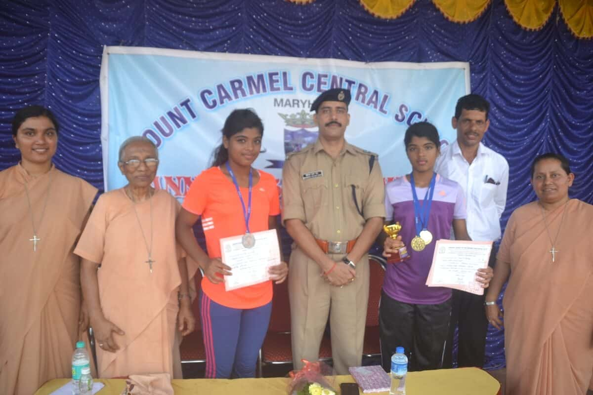 Winners of CBSE Zonal Athletic Meet