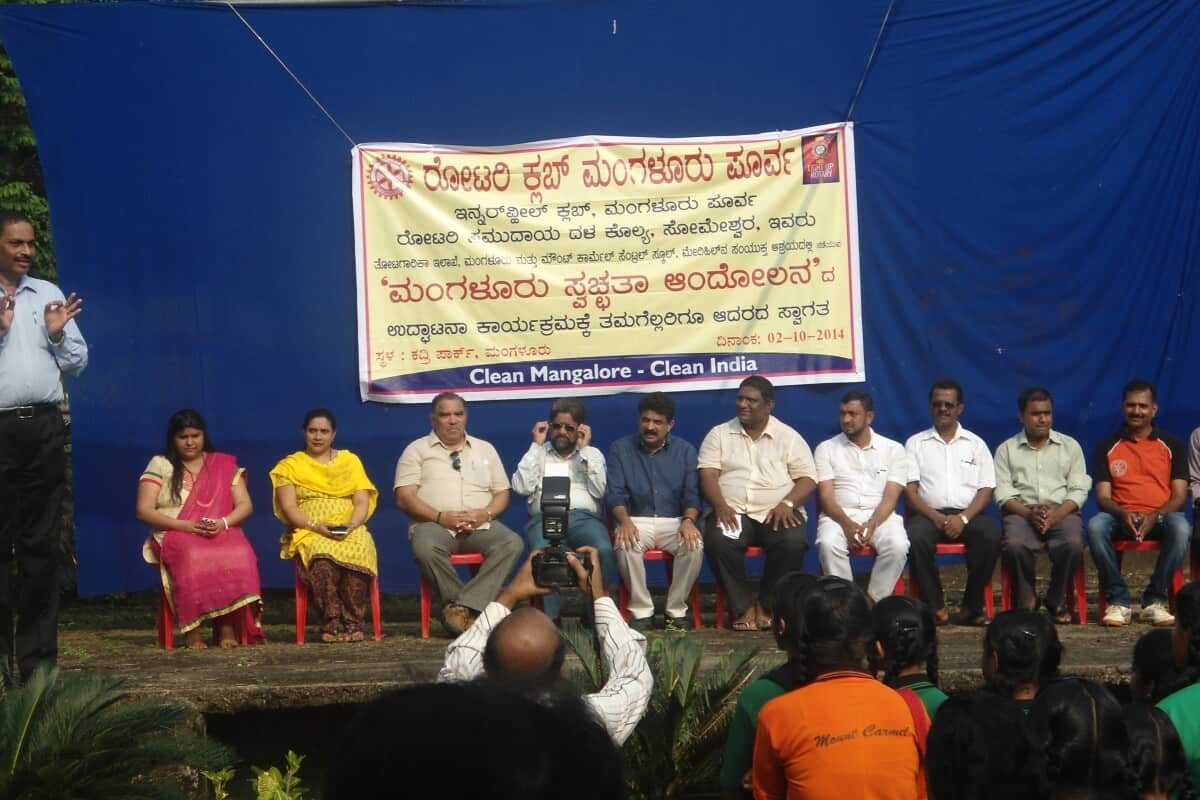 Gandhi Jayanthi and Cleanliness Drive