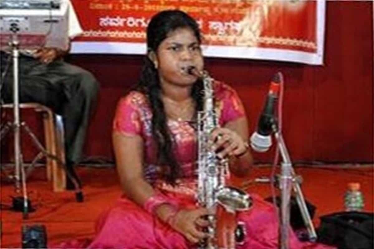 'Saxaphonist' Performance – Pragathi A. P