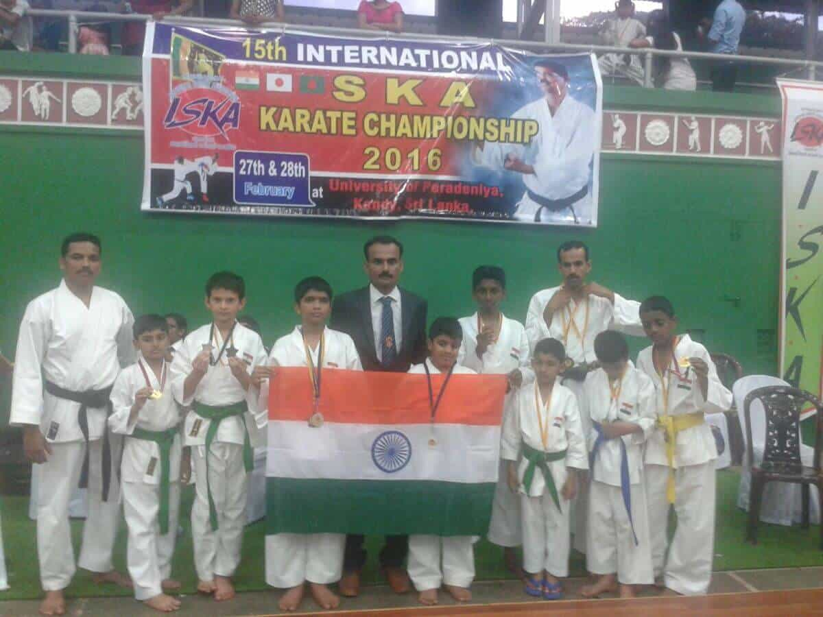 SKA Karate Bronze winner