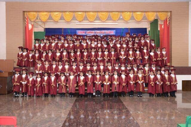 The Running Journey of Kindergarten Graduates for the Academic Year 2015-16