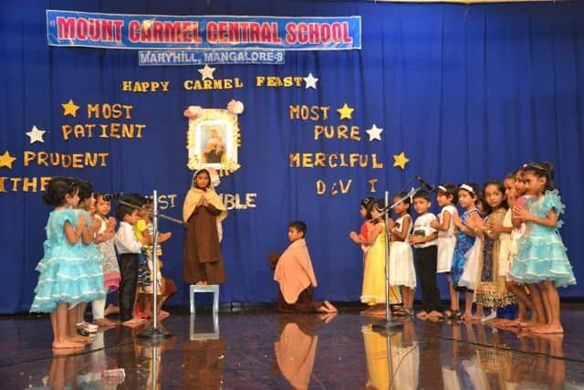 Celebration of the Feast of our Lady of Mount Carmel 2016