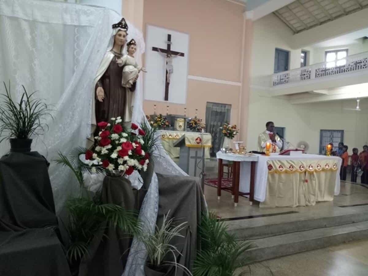 Celebration of School Feast with Fervor & Devotion