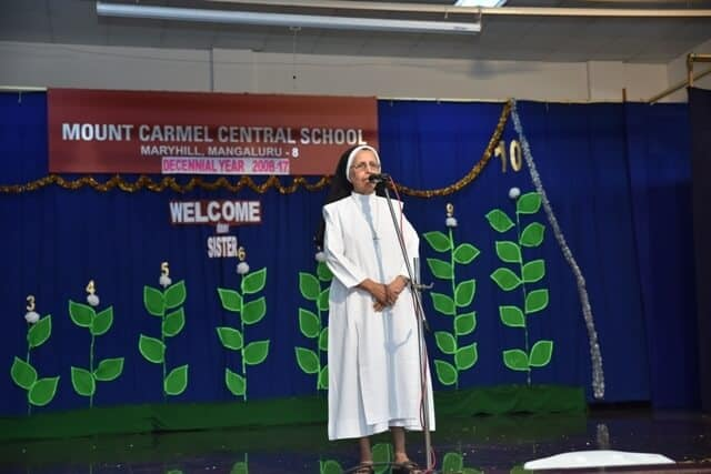 The Provincial Superior Sr. Carmel Rita A.C. in our midst