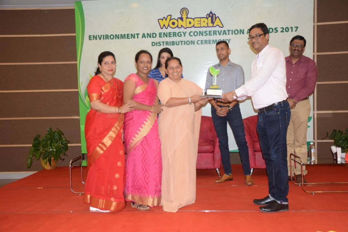 Special Recognition Award by Wonderla, Bangalore