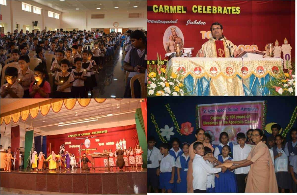 Celebration of 150 years of the Apostolic Carmel