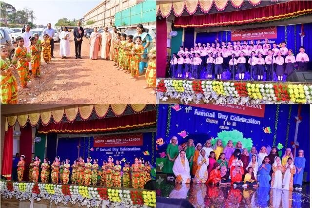 Colorful Annual Day of Classes I TO III