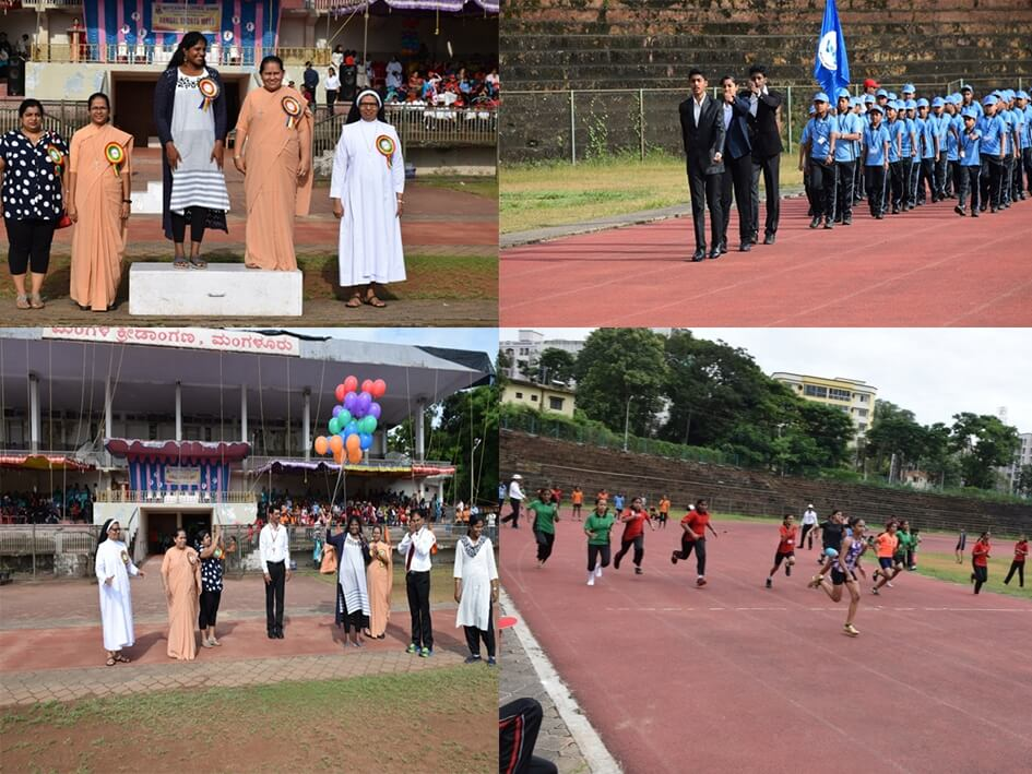 Sportive talents exhibited during the Annual Sports Meet 2019