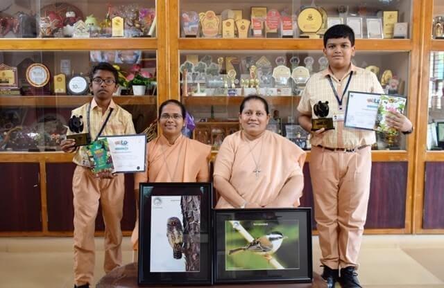 Our School team wins WWF, India - Karnataka State Level Wild Wisdom Quiz 2019
