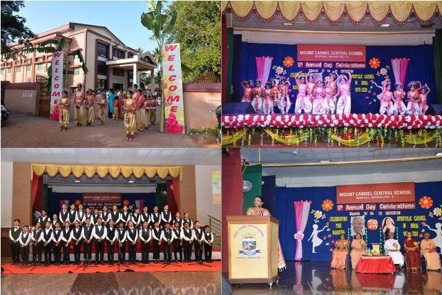 Colourful Annual Day of Classes IV to VI