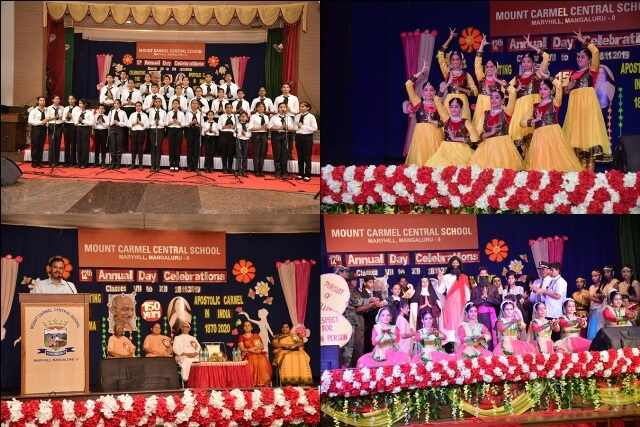 Spectacular Annual Day of Classes VII to XII
