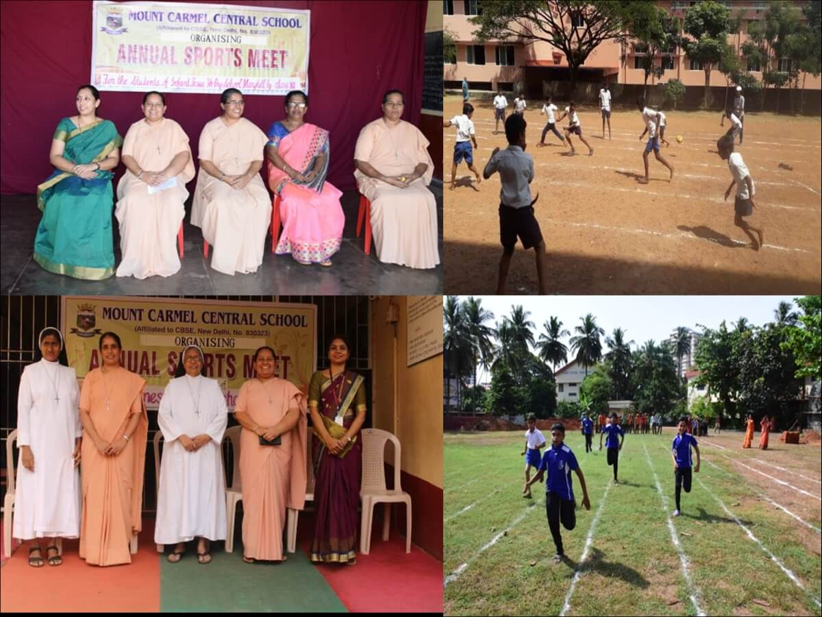 Organising Sports Meet at Infant Jesus School and St. Agnes Special School as Part of Sewa