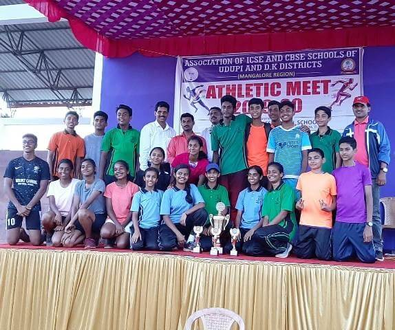 Our Athletes spin to victory in the AICS Athletic Meet