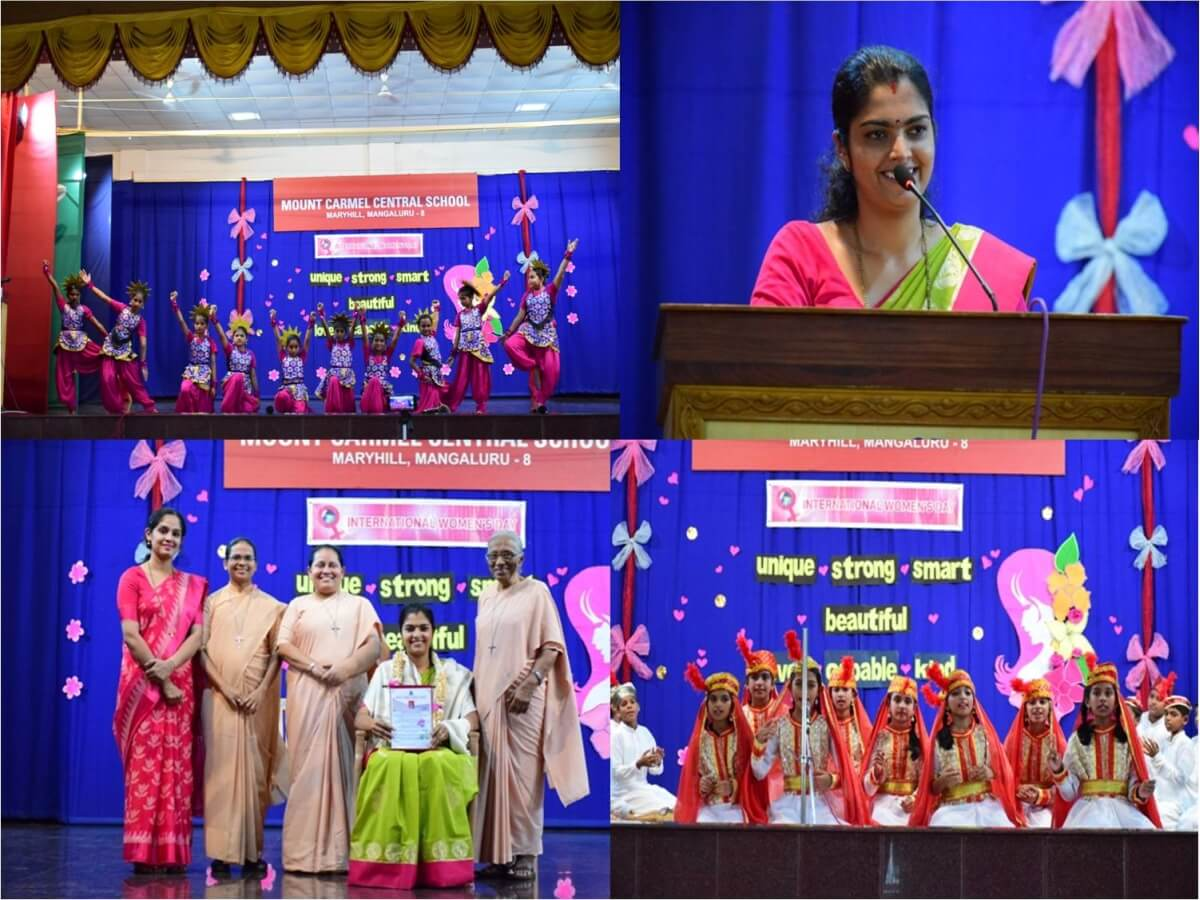 Corporator Mrs Sangeetha felicitated during the International Women's Day celebration