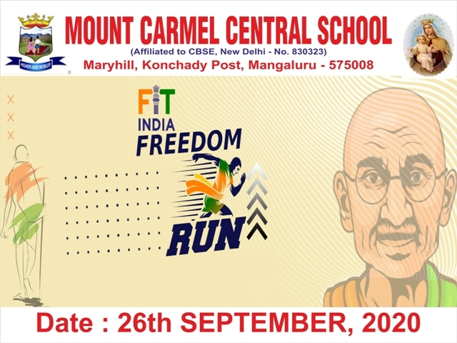 Fit India Freedom Run - 2020