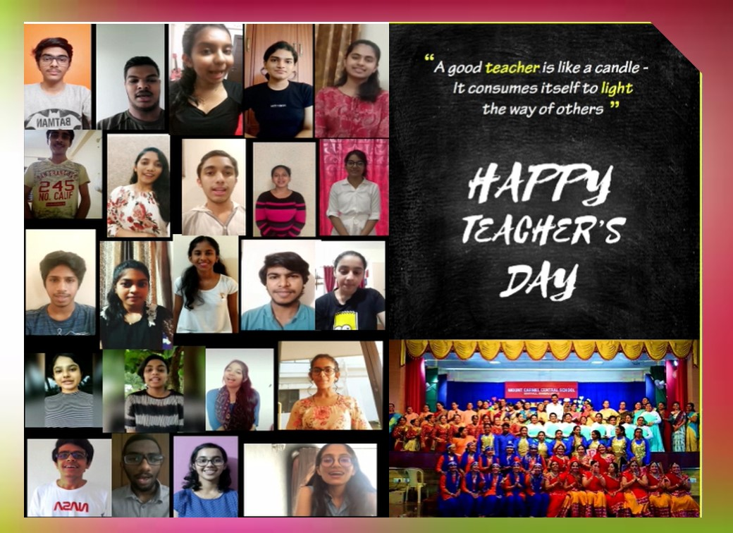 Students pay a fitting tribute to their teachers on Teachers Day