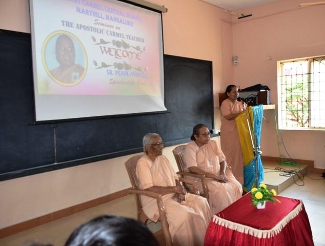 Staff Seminar on 'Apostolic Carmel Educator'