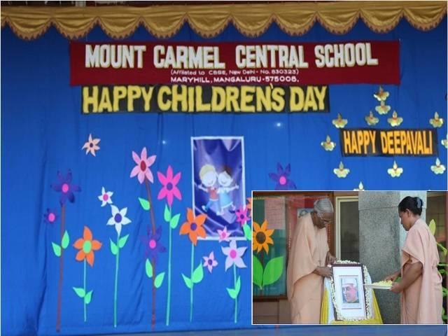 Celebration of Children's day and Deepavali