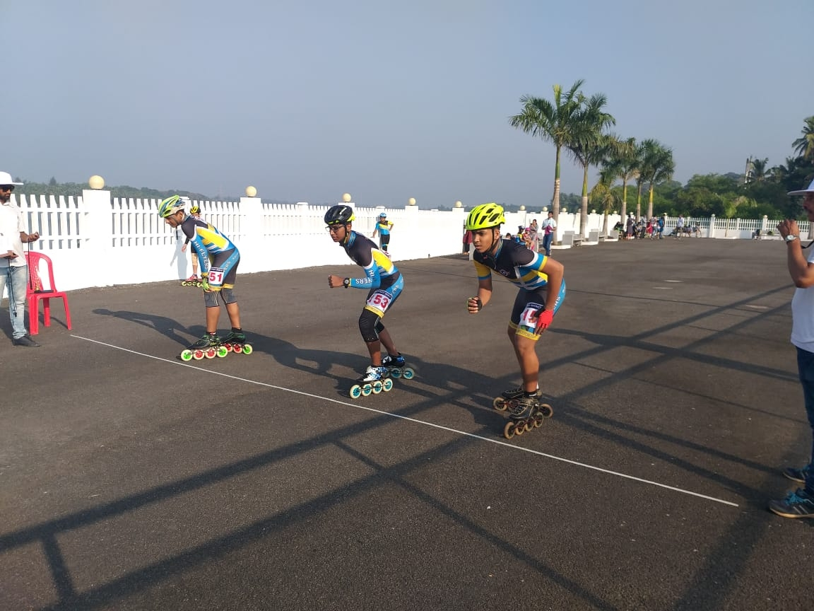 Our Skaters Shine in the District level Speed Roller Skating championship