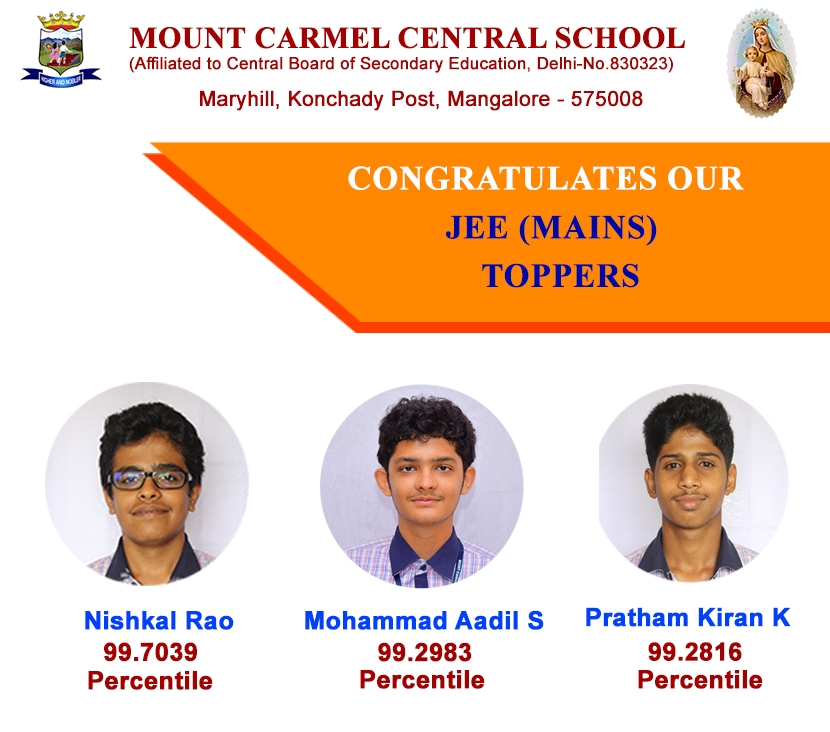 Our Students Excell In JEE(MAINS) Exam